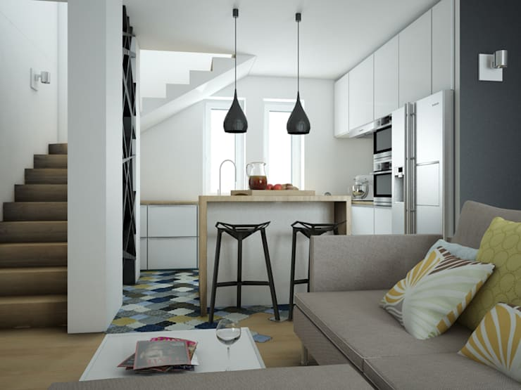 Modern style kitchen by MArker Modern