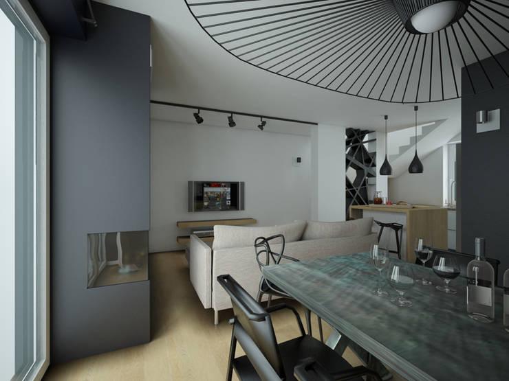 Salas de estilo moderno de MArker Moderno