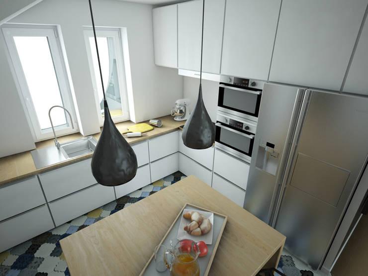 Cocinas de estilo moderno de MArker Moderno