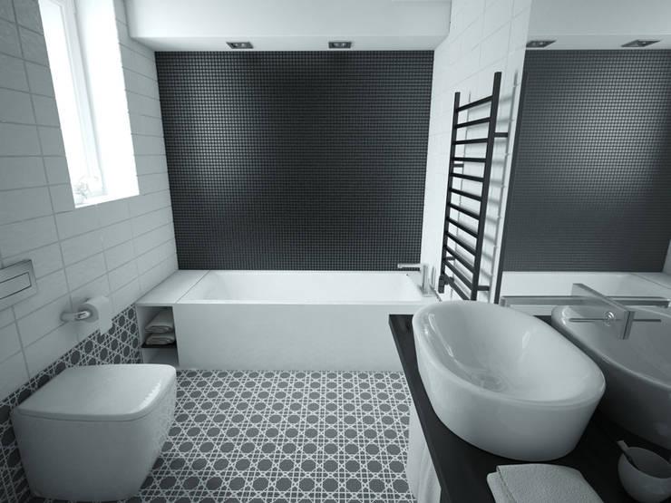 Baños de estilo moderno de MArker Moderno Cerámico