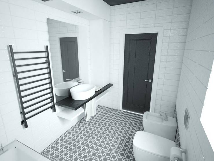 Modern style bathrooms by MArker Modern Ceramic