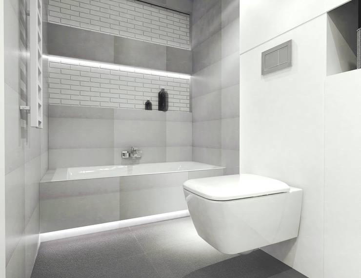 Bright bathroom: styl , w kategorii Łazienka zaprojektowany przez Arch/tecture