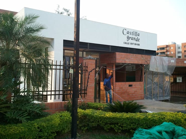 CONJUNTO RESIDENCIAL CASTILLA GRANDE – PORTERÍA:  de estilo  por C&G ARQUITECTURA E INGENIERÍA
