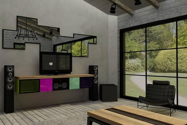 Update İç Mimarlık – Emre & Cansu Evi: modern tarz , Modern