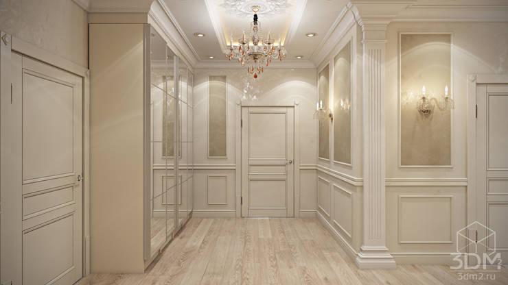 Проект 040: холл: Коридор и прихожая в . Автор – студия визуализации и дизайна интерьера '3dm2'