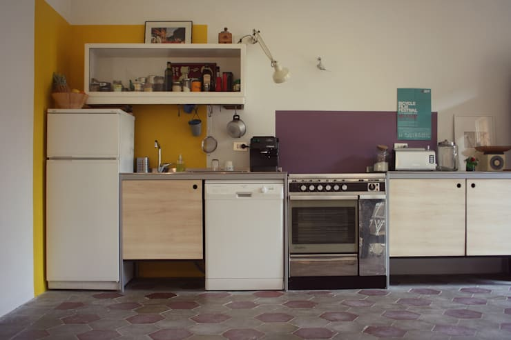 Cucina: Cucina in stile in stile Eclettico di Atelier delle Verdure