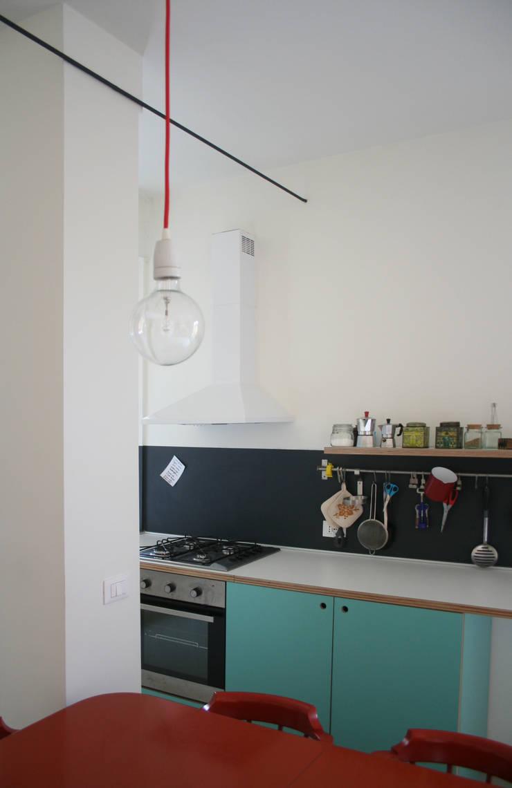 Cocinas de estilo  por Atelier delle Verdure, Ecléctico