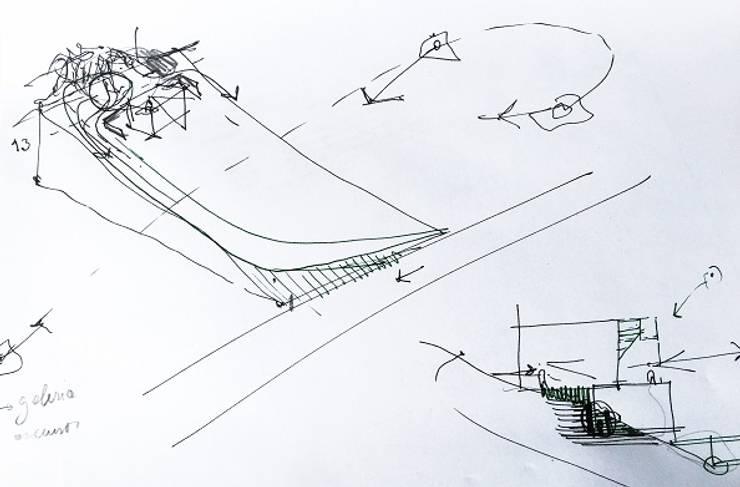 Vivienda Altos Aires Golf – Tandil 2015: Casas de estilo  por trazos urbanos