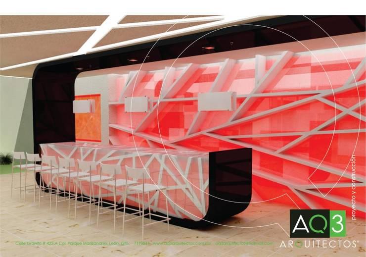 Casa Q:  de estilo  por AQ3 Arquitectos