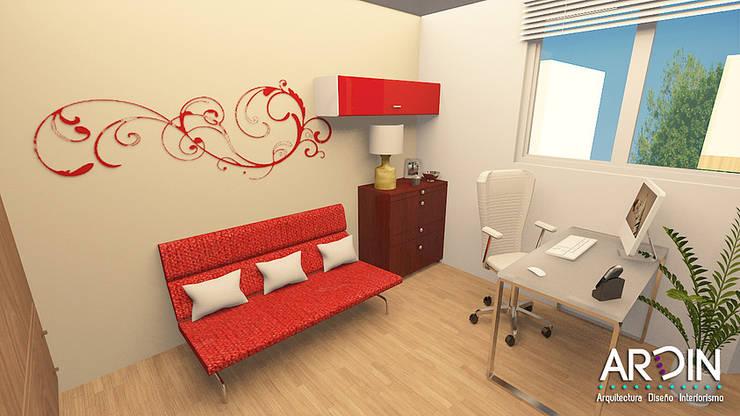 ESTUDIO: Estudios y oficinas de estilo  por ARDIN INTERIORISMO