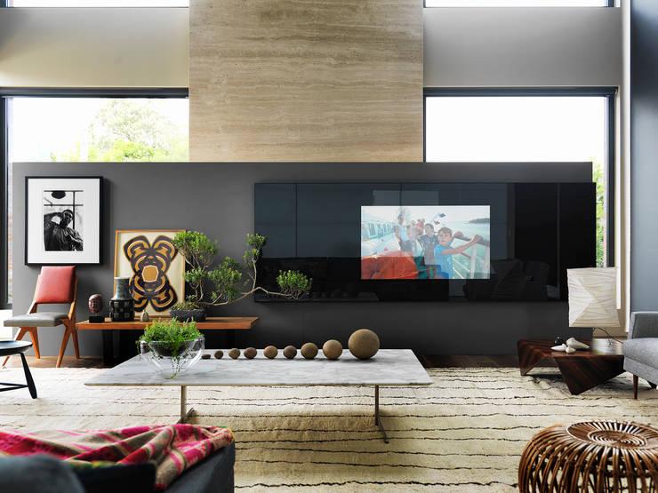 Abito Casa: Salas de estar  por Todos Arquitetura