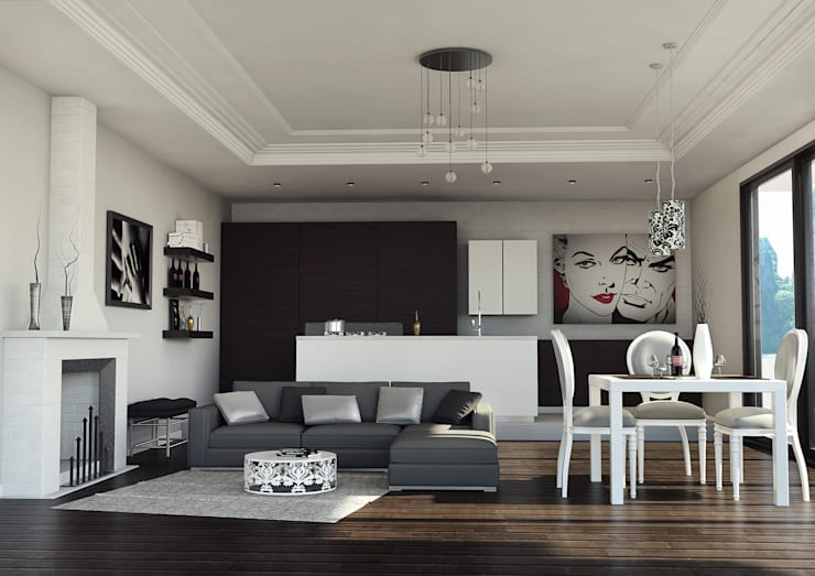 Living room by asf