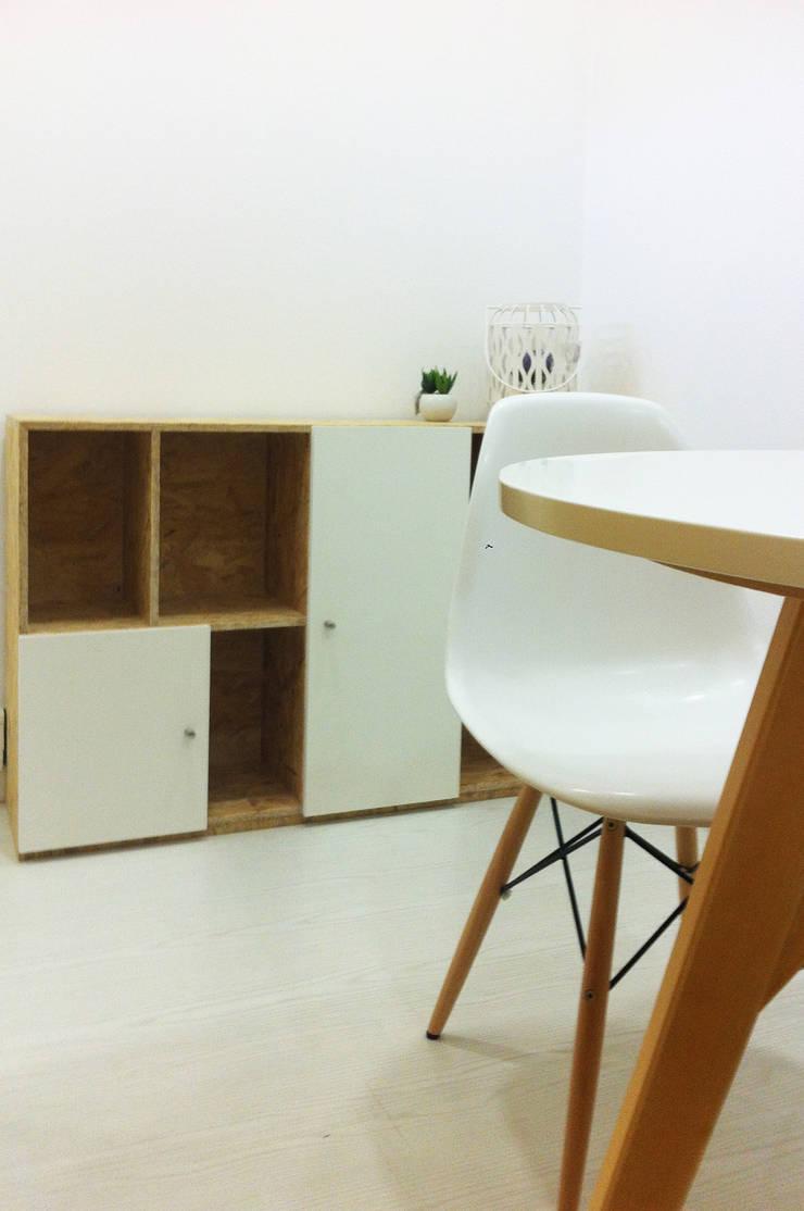 eco.office | coworking: Escritórios  por Tó Liss