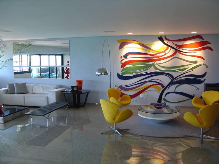 Painel sala de estar: Salas de estar  por Complementto D
