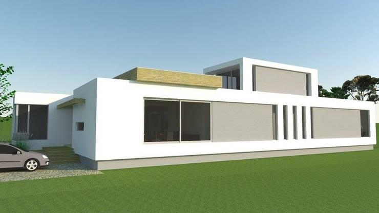 Casa en Las Calandrias:  de estilo  por Misenta | Rho arquitectos