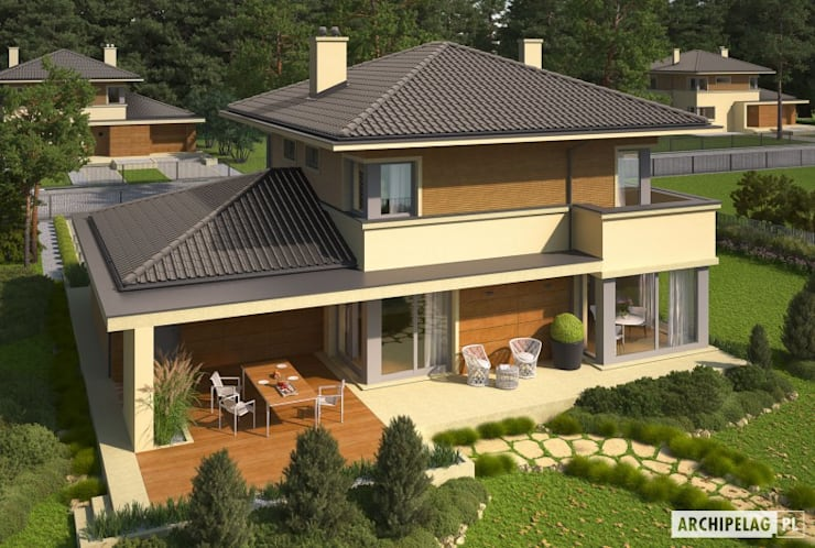 Casas  por Pracownia Projektowa ARCHIPELAG