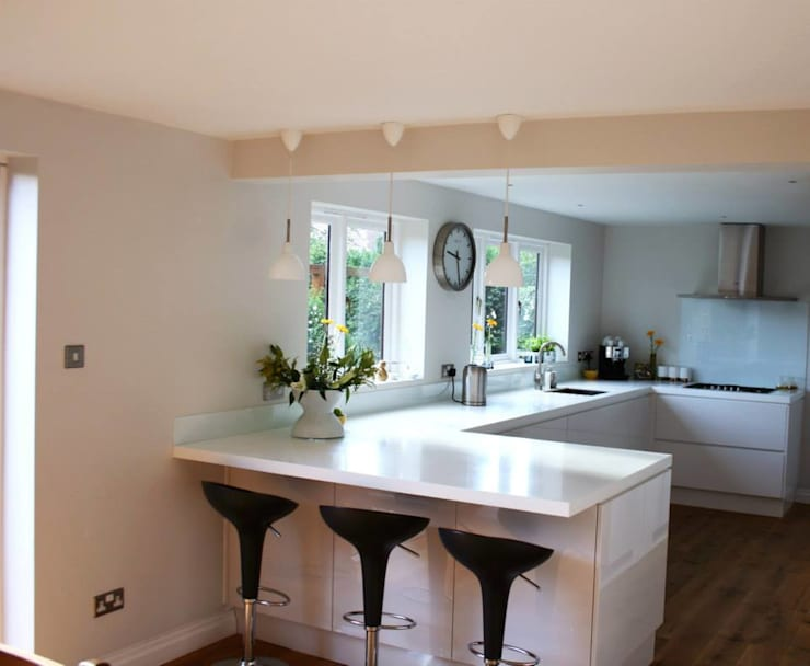 A modern kitchen refit by Redesign | homify