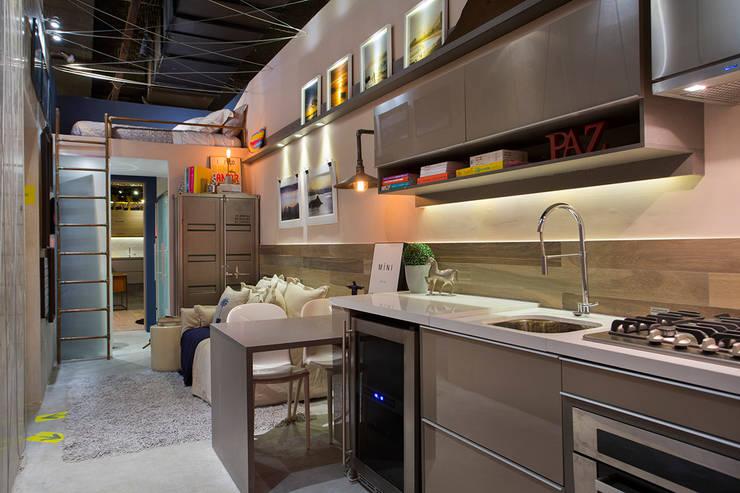 ห้องครัว by Paula Werneck Arquitetura