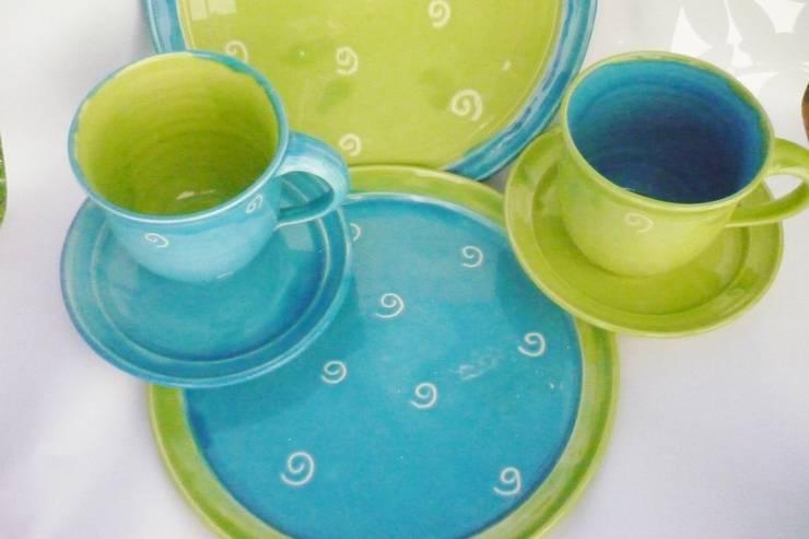 mediterranean  by Ingrid-Keramik, Mediterranean Ceramic