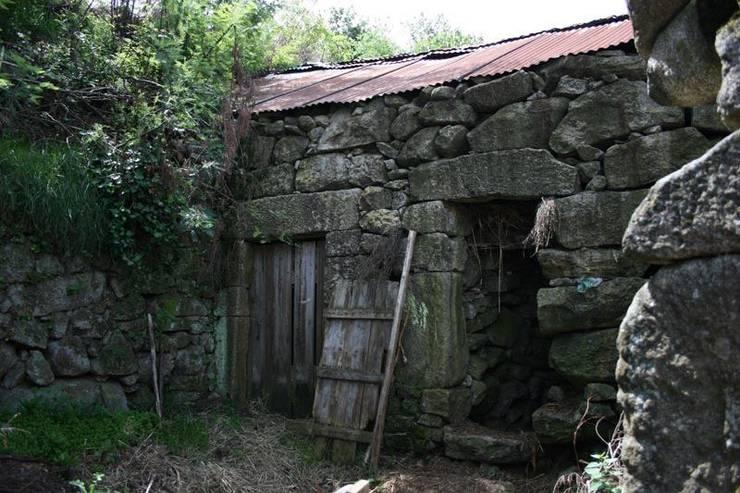Case in stile in stile Moderno di RH Casas de Campo Design