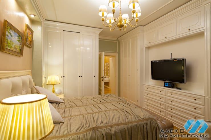 غرفة نوم تنفيذ  Александр Малиновский