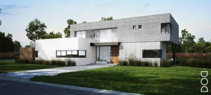 Casa Country: Casas de estilo  por DOD studio