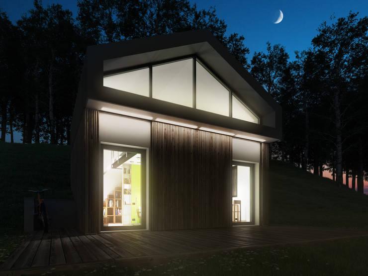 Projekty,  Domy zaprojektowane przez 3d-arch