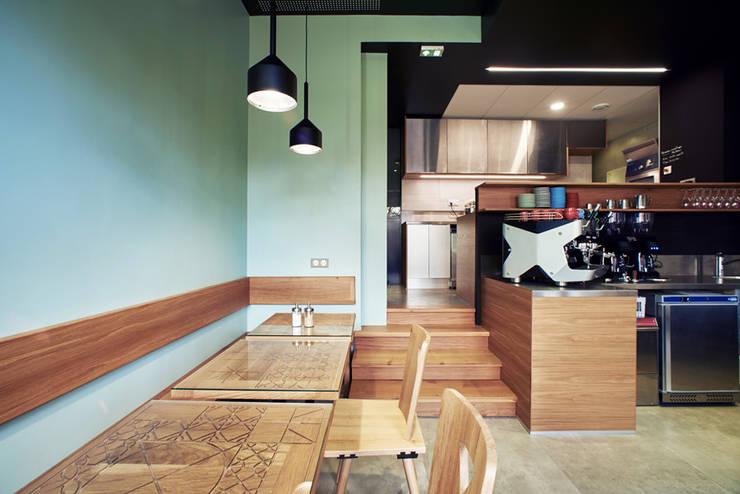 am nagement d coration d 39 un coffee shop strasbourg par ektor studio homify. Black Bedroom Furniture Sets. Home Design Ideas
