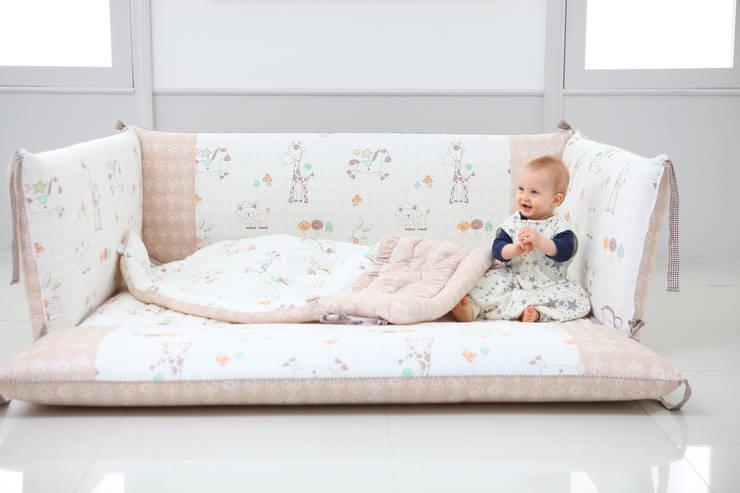 동물원범퍼침대: 롤베이비의  아이 방