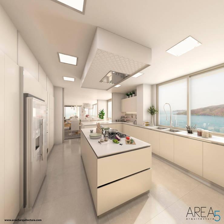 Morano Mare - Cocina: Cocinas de estilo  por Area5 arquitectura SAS