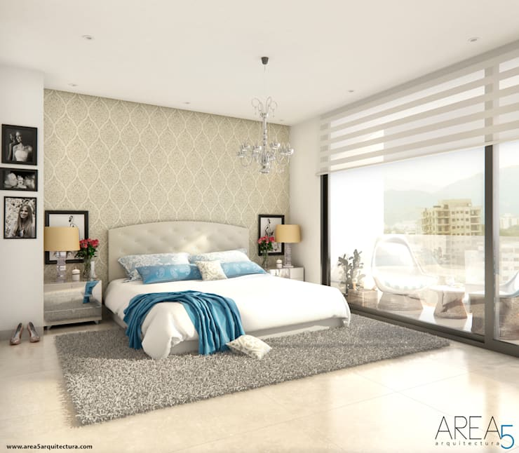 Bedroom by Area5 arquitectura SAS