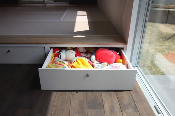 収納: atelier mが手掛けた子供部屋です。