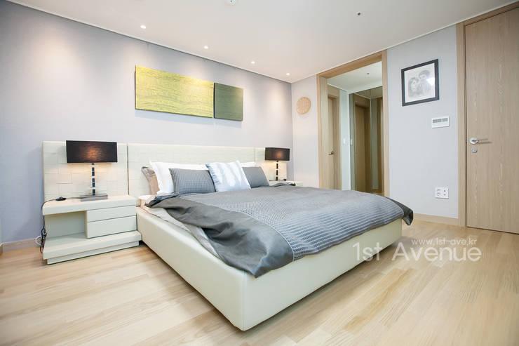 Bedroom by 퍼스트애비뉴, Modern