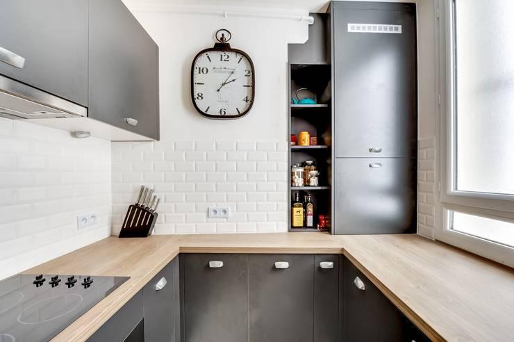 Cocinas de estilo moderno por CuisiShop