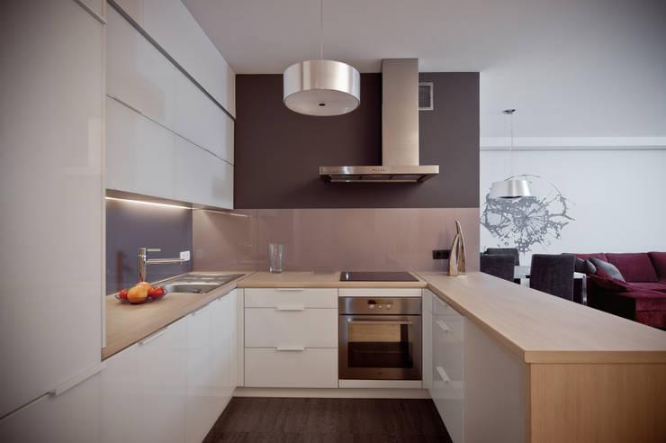 Ligota Park: styl , w kategorii Kuchnia zaprojektowany przez broKat