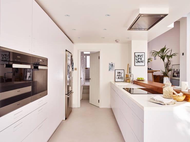 Projekty,  Kuchnia zaprojektowane przez Holloways of Ludlow Bespoke Kitchens & Cabinetry