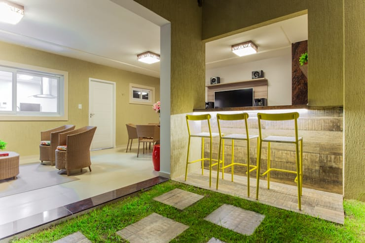 Patios & Decks by Rita Albuquerque Arquitetura e Interiores