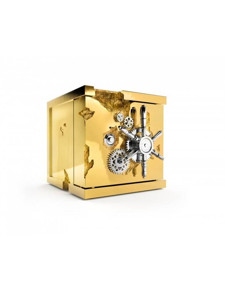 MILLIONAIRE Jewelry Safe: Escritório e loja  por Be-Luxus