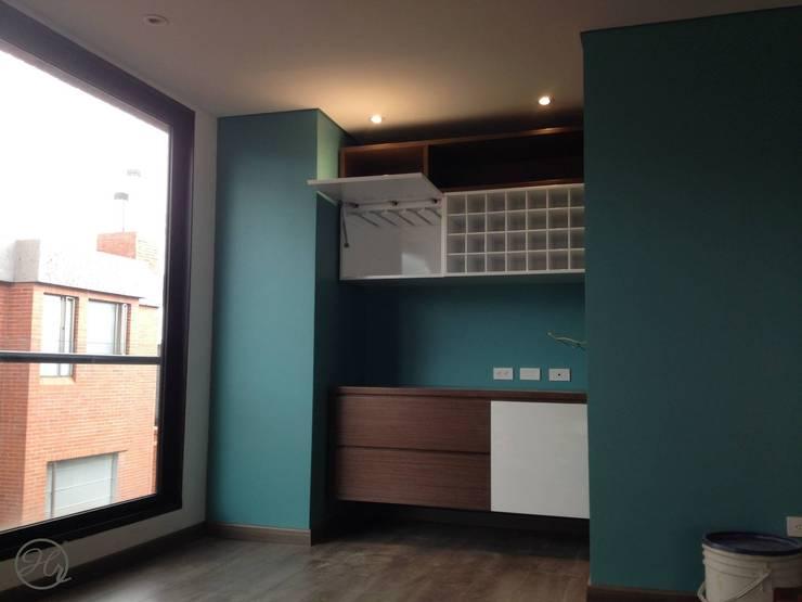 Espacios Interiores: Cocinas de estilo  por Home Reface - Diseño Interior CDMX