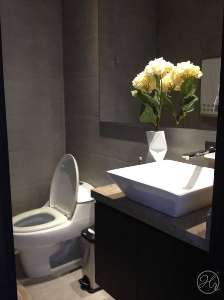 Espacios Interiores: Baños de estilo  por Home Reface - Diseño Interior CDMX
