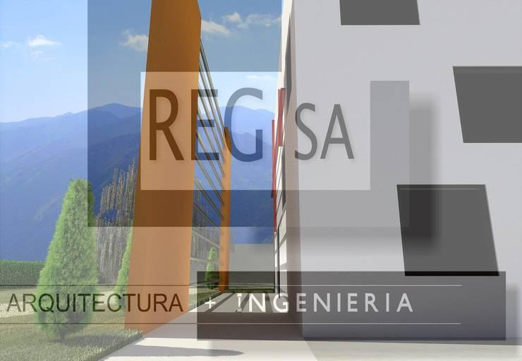 Proyecto Casa-Habitación 03:  de estilo  por REGSA Arquitectura y Construcción