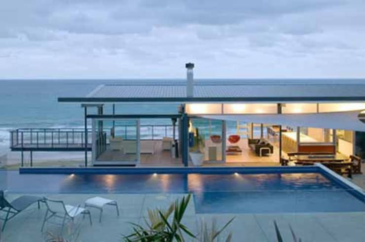Fachadas: Casas de estilo  por Vektor arquitek
