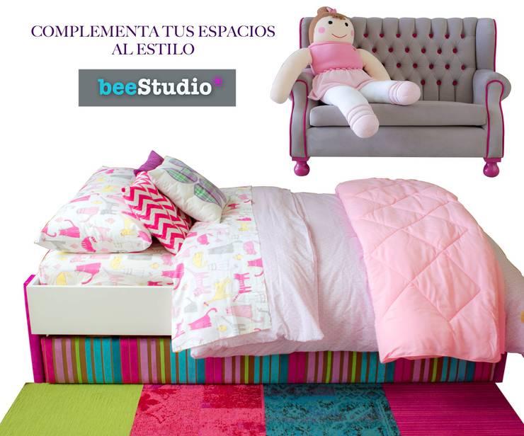BeeStudio: Habitaciones infantiles de estilo  por beeStudio®