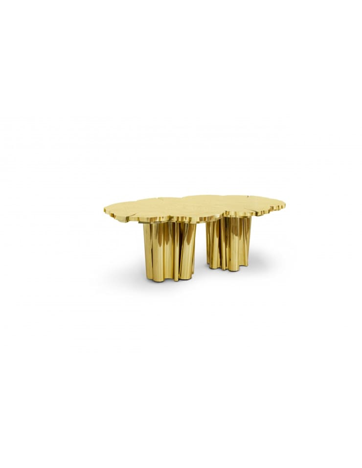 FORTUNA Dining Table: Sala de jantar  por Be-Luxus