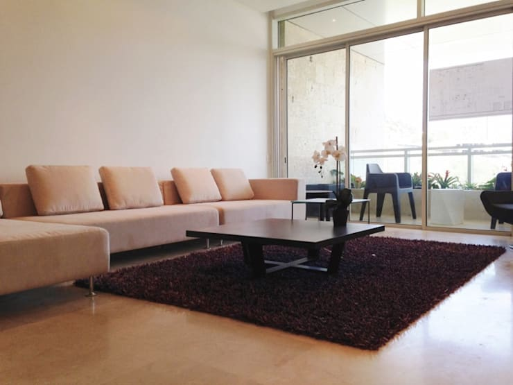 Modern living room by THE muebles Modern