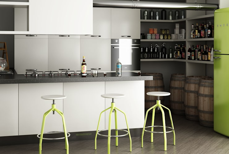Progetto di una Cucina: Cucina in stile  di Arienti Design
