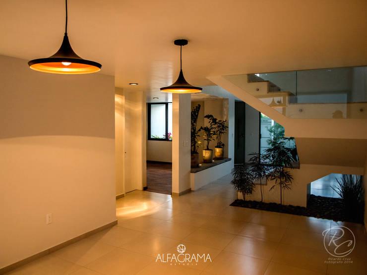 Salas de jantar modernas por Alfagrama estudio