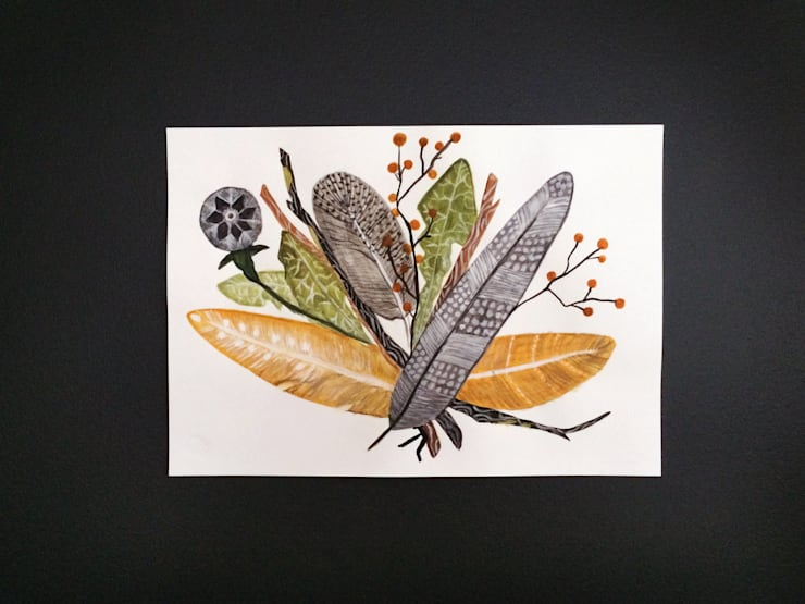 PAINTBYMGB – Autumn:  tarz Sanat