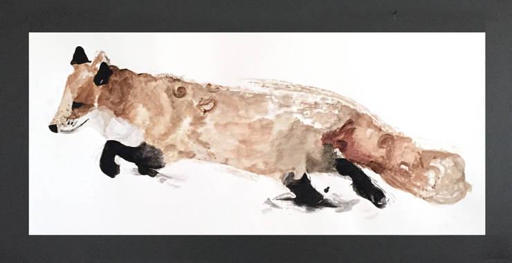 PAINTBYMGB – tilki:  tarz Sanat