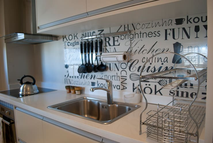 مطبخ تنفيذ Diseñadora Lucia Casanova